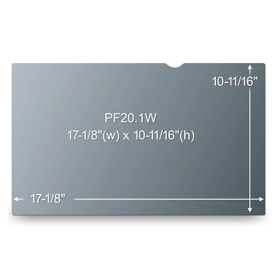 Privacy Filter For LCD Screen Display 3M PF20.1W  20.1  Wide Screen NEW • 10.77£
