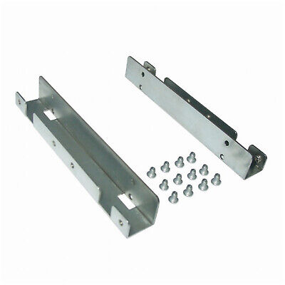 Metal SSD Mounting Rail For 2 X  2.5inch Hard Drives To 3.5inch Bay • 2.88£
