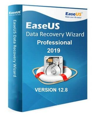 Easeus Data Recovery Wizard 12.8 Professional Genuine Serial • 24.99£