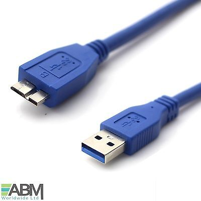 0.5m Faster Micro USB 3.0 Cable Lead For WD My Passport External Hard Drive HDD • 2.45£