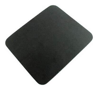 BLACK Fabric Mouse Mat - Foam Backed - High Quality 5mm • 2.14£