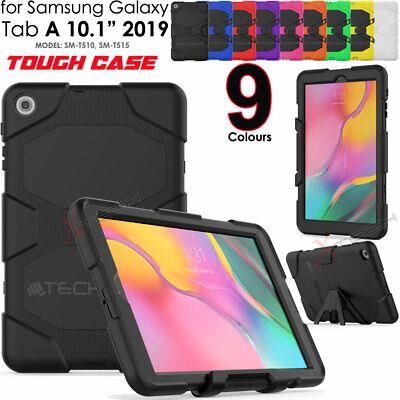 For Samsung Tab A 10.1  2019 T510 Tough HEAVY DUTY Rugged Shock Survival Case • 11.95£