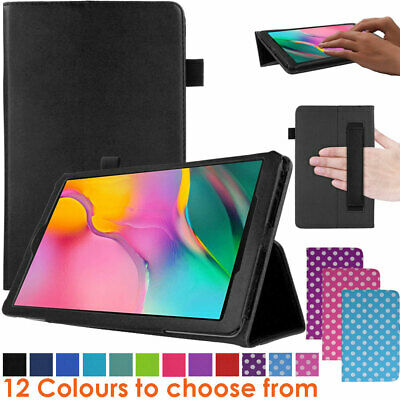 For Samsung Galaxy Tab A 10.1  2019 SM-T510 T515 Leather Flip Case Stand Cover • 5.95£
