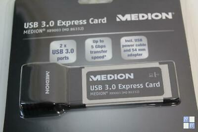 Medion USB 3.0 Express Card (x89003) MD86332 • 20.36£