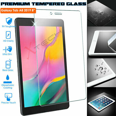 TEMPERED GLASS Screen Protector For Samsung Galaxy Tab A 8.0 2019 (SM-T290/T295) • 4.95£