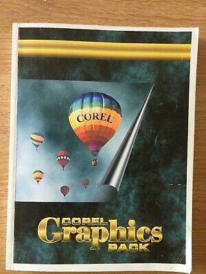 Corel Graphics Pack User's Manual Volume 1 First Printing (1995) • 34.99£