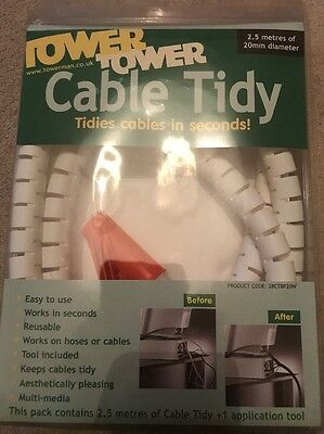 Tower Cable Tidy 2.5meters 20mm Diameter • 5£