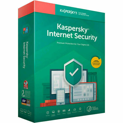 Kaspersky Internet Security 2021 5pc | 5 Devices 1 Year License 2020 • 18.50£
