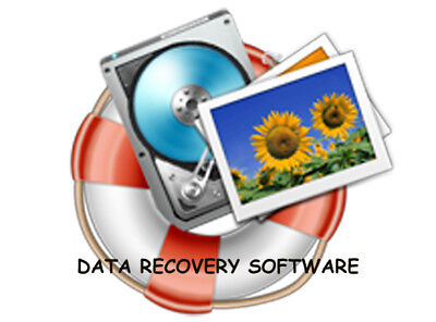 Data Recovery Deleted Lost File Restoration Software Music Photos  Download • 0.99£