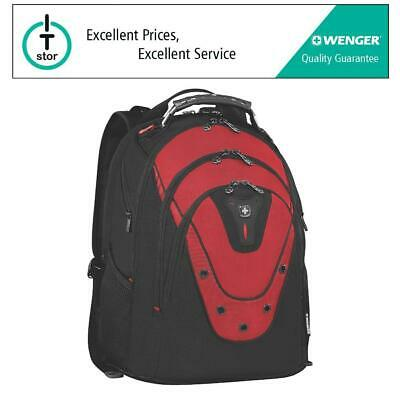 Wenger Ibex 17  Laptop Backpack With 3 Year Warranty - Red - 601687 • 49.99£