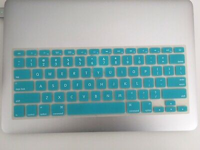 MacBook Rubber Keyboard Cover Removeable,  Blue • 4.50£