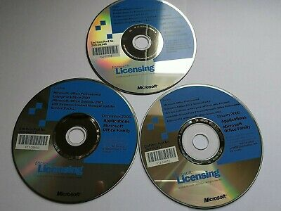 Microsoft Licensing 2006 Applications Office Family 3CD • 59.99£