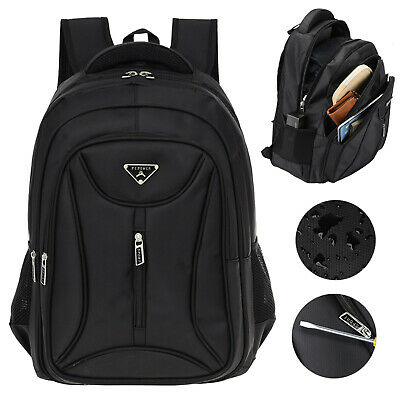 17.3 Inch Laptop Backpack Anti Theft Waterproof Large Travel School Shoulder Bag • 19.99£