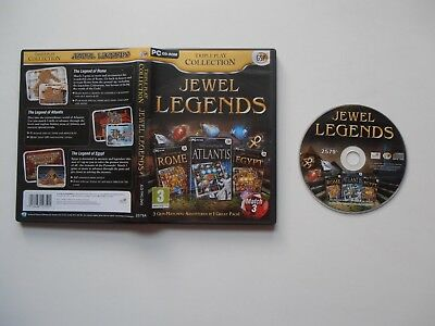 Jewel Legends - Triple Play Collection PC CD-ROM Game (2011) • 3.45£