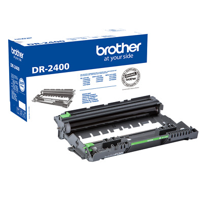 Genuine Original Brother DR2400 Black Drum Unit DCPl2510 L2530 HLl2310 DR-2400 • 45£