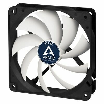 Arctic F12 TC 120mm PC Case Cooling Fan Temperature Controlled Silent/Quiet • 5.99£