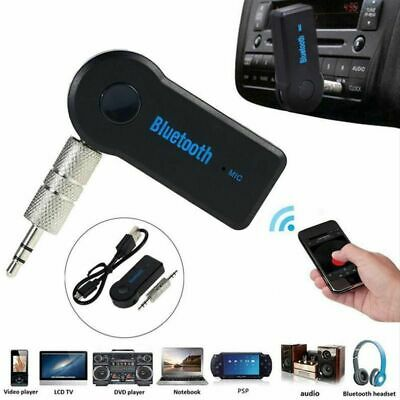 Wireless Bluetooth Receiver Transmitter Adapter For Car Music Aux 3.5mm Jack UK • 4.10£
