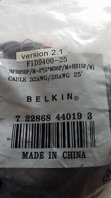 Belkin F1D9400-25 Cable  • 42£