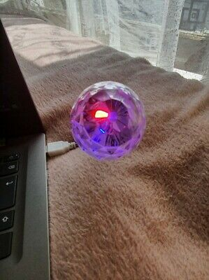 AVON USB Disco Light - Multicoloured - Flexible Neck - Brand New • 5.50£