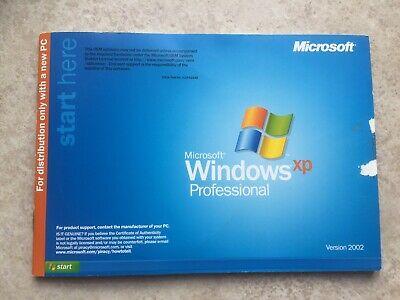 Microsoft Windows XP Professional Version 2002 With Service Pack 2 Upgrade Disc • 0.99£