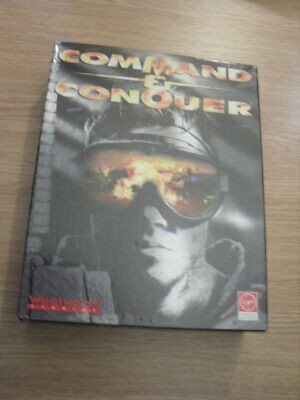 Command & Conquer - Big Box - PC Rom - West Wood Studies • 15£