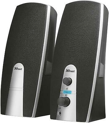 NEW 16697 04 Mila 2.0 USB Powered PC Speakers For Computer And Laptop5 W 10 W P • 12.06£