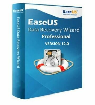 Easeus Data Recovery 12.0 Professional - Lifetime License - For Windows • 3.95£