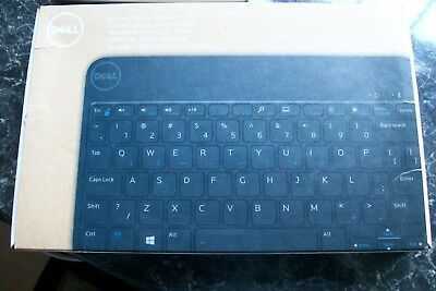 Genuine Dell Bluetooth Keyboard Case Stand Venue 8 Pro US I Think! • 29.75£