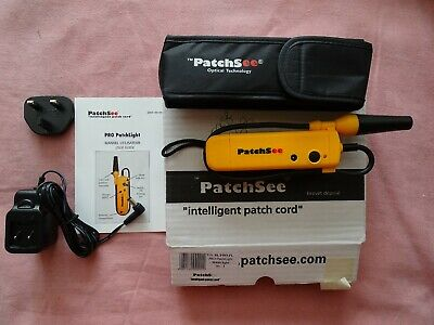 PatchSee BL/Pro/PL Pro Light Injector Patchlight & Charger • 50£