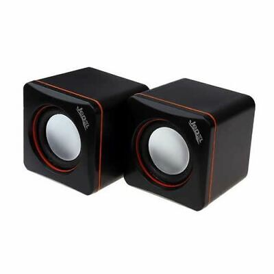 Jedel USB Powered Mini PC Speakers Max 6W RMS Travel For PC Laptop Tablet • 6.95£
