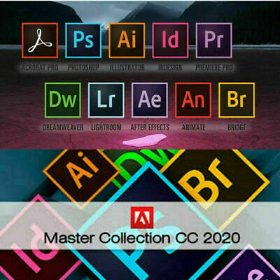 Master Collection CC 2020 For Windows + Mac FAST Delivery FULL OFFICIAL Verstion • 5.49£