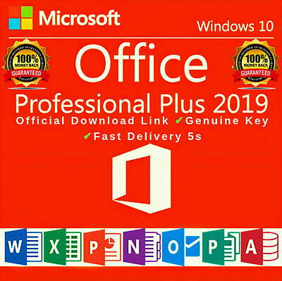 Microsoft Office 2019 Professional Plus Lifetime License Key ✔️ Fast Delivery ✔️ • 1.90£