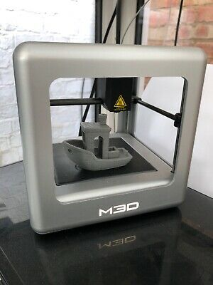 M3D Micro 3d Printer - Silver Limited Edition + Fillament • 69£