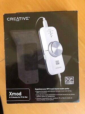 Creative Labs Xmod X-Fi Module For PC & Mac • 18£