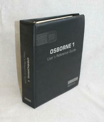 Osborne 1 Computer User's Reference Guide Manual 1981 • 25£
