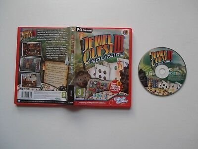 Jewel Quest III - Solitaire PC CD-ROM Game (2009) • 3.49£