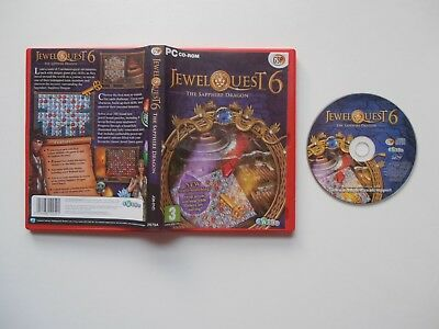 Jewel Quest 6 - The Sapphire Dragon PC CD-ROM Game (2011) • 4.49£