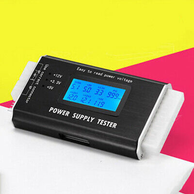 20/24-pin Power Tester Digital Computer Inspection Display LCD Measurement PC • 16.99£