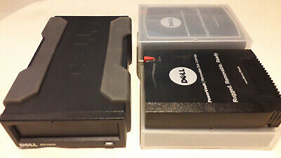 Dell PowerVault RD1000 Server/PC External Backup Drive RDX. Incl 4 Tapes/Disks • 79£