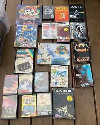 ZX Spectrum Games, Big Box And Clam Bundle A • 10.50£