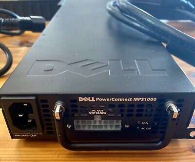 Dell PowerConnect MPS-1000 External PSU Power Supply With Connector Cable • 25£