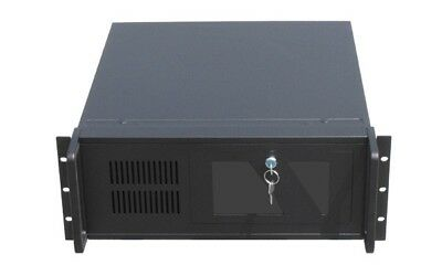 Gembird 4U 19  Rackmount Network SERVER CHASIS CASE Enclosure X8 3.5  HDD Bays • 69.99£