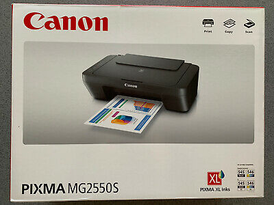 Canon PIXMA All In One Inkjet Printer Fast Scanner Copier Office , Ink Included • 44.99£