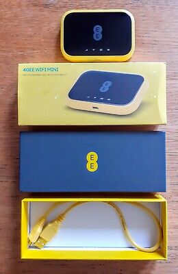 EE 4GEE WiFi Mini 4G Mobile WiFi Router  • 12£