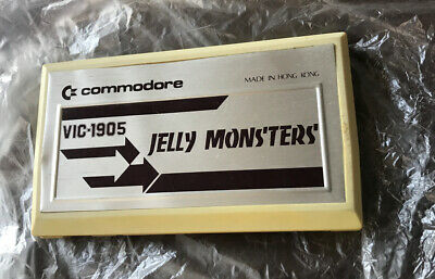 Commodore Vic 20 Cartridge JELLY MONSTERS (VIC-1905) • 19.99£