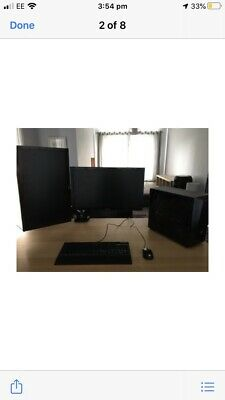 Gaming PC, Twin Screens And Lots Of Extras • 600£
