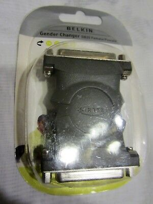 Belkin Gender Changer DB25 Female To Female. • 4.99£