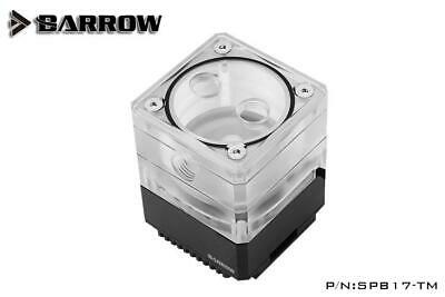 Barrow SPB17-TM 960LPH 17W PWM Mini Pump Reservoir With LRC 2.0 RGB - Black • 69.99£