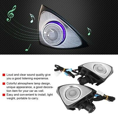 3D Rotating Treble Audio With Atmosphere Lamp For Mercedes-Benz C/GLC 15-18 • 203.99£