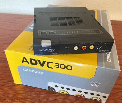 Canopus / Grass Valley ADVC-300 - Pro-quality Analogue/Digital Video Converter • 295£